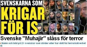 svenskarna som krigar frö jihad